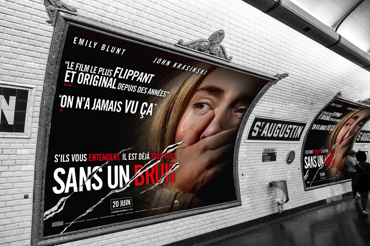 sans-un-bruit-metro-campagne-emil-balic-affiche-cinema-graphisme